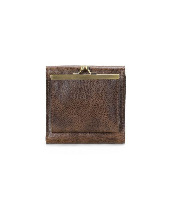 Reiti Bi-Fold Wallet - Distressed - Chocolate