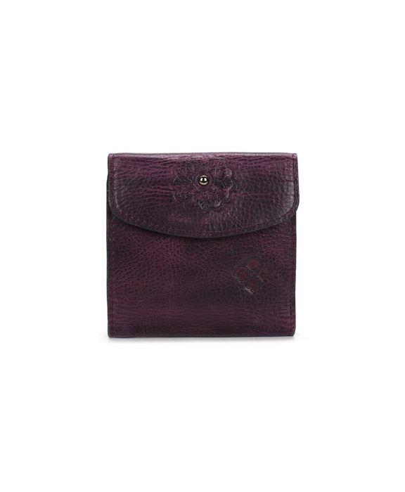 Reiti Bi-Fold Wallet - Distressed - Plum