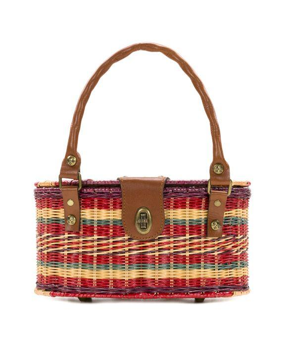 Majadas Basket - Multi Stripe