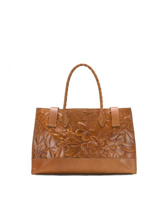 Lucetta Tote - Spring Floral Deboss 2