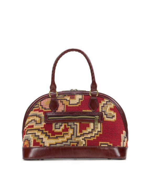 Tarma Satchel - Peruvian Tapestry Red 2