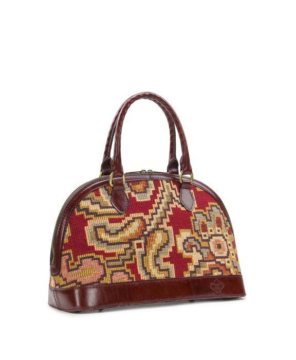 Tarma Satchel - Peruvian Tapestry Red 3