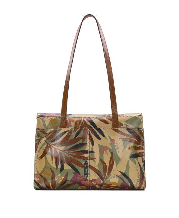 Verbania Satchel - Palm Leaves 2