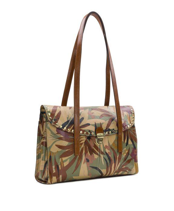Verbania Satchel - Palm Leaves 3