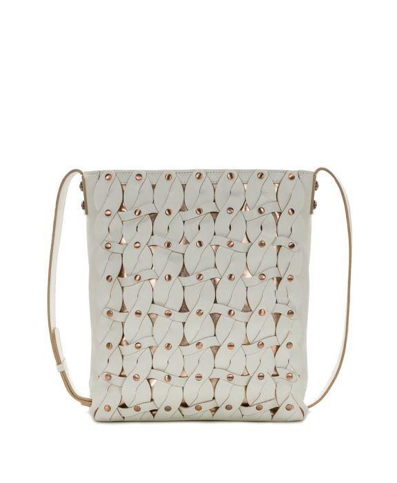 Raiano Crossbody - Twisted Braid - White