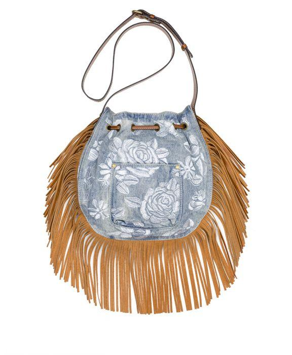 Carrara Drawstring - Spanish Villa Embroidered Washed Denim 2