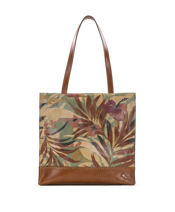 Toscano Tote - Palm Leaves