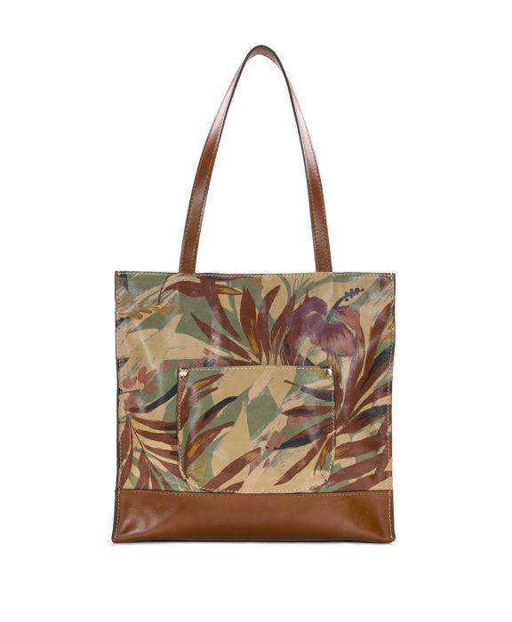 Toscano Tote - Palm Leaves 2