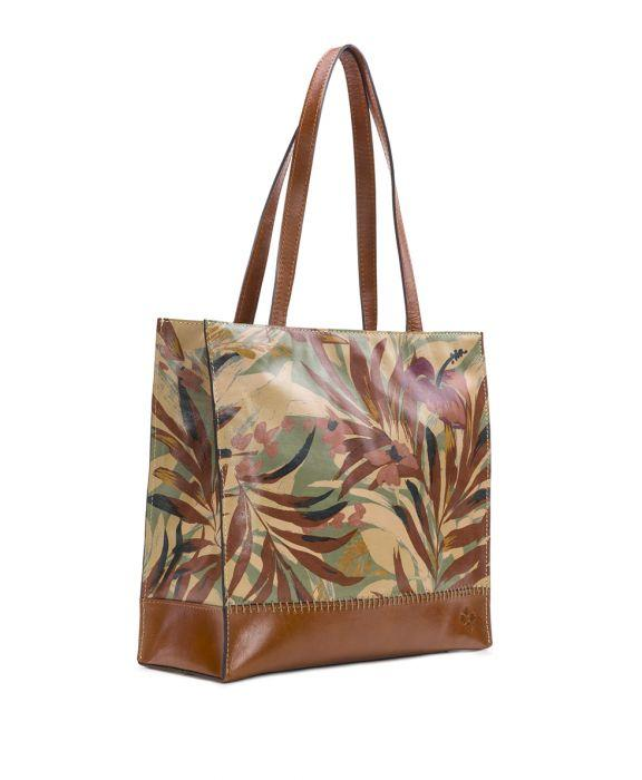 Toscano Tote - Palm Leaves 3