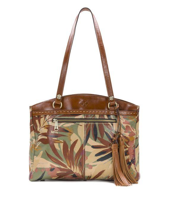 Poppy Tote - Palm Leaves