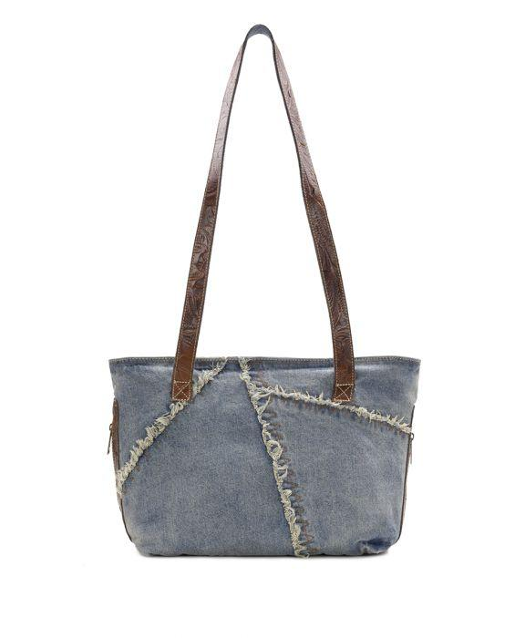 Nevoso Zip Tote - Denim 2