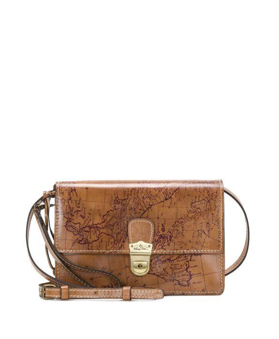 Lanza Crossbody Organizer - Signature Map