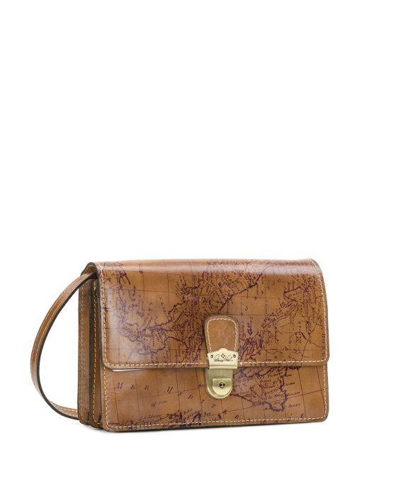 Lanza Crossbody Organizer - Signature Map 3