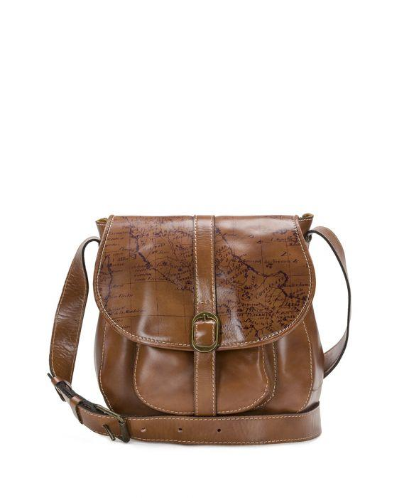 Barcellona Saddle Bag - Signature Map