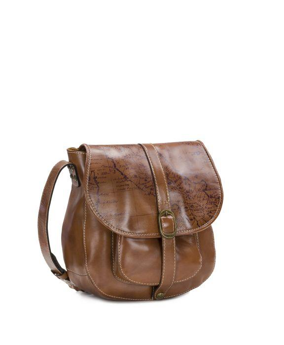 Barcellona Saddle Bag - Signature Map 3