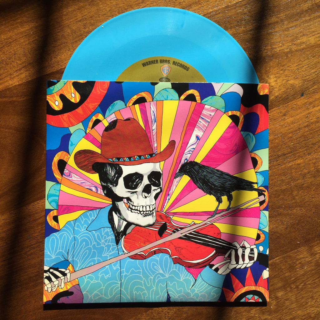 The Grateful Dead- Vinyl Record Packaging