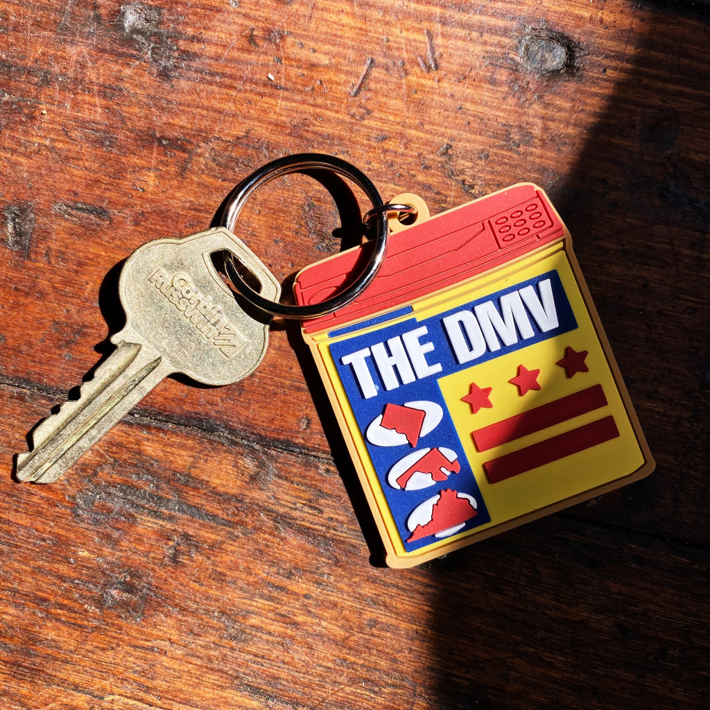 THE DMV keychain