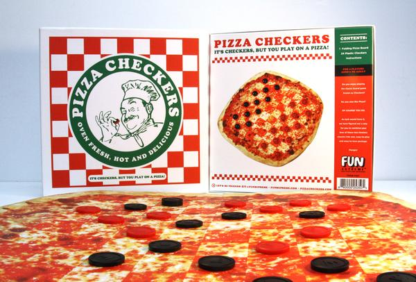 Pizza Checkers