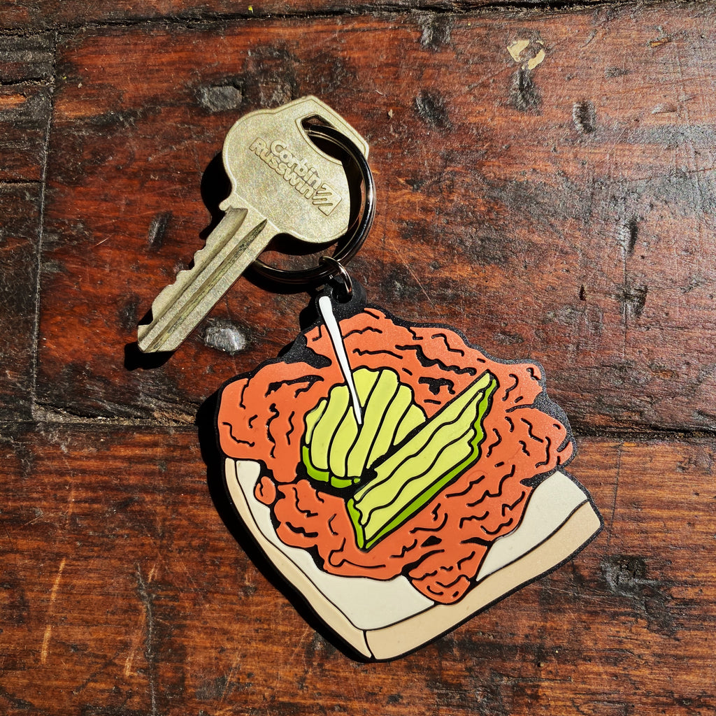 Hot Chicken Keychain