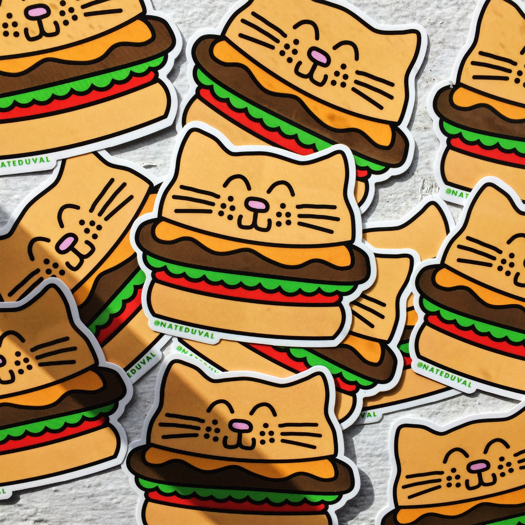 catburger sticker