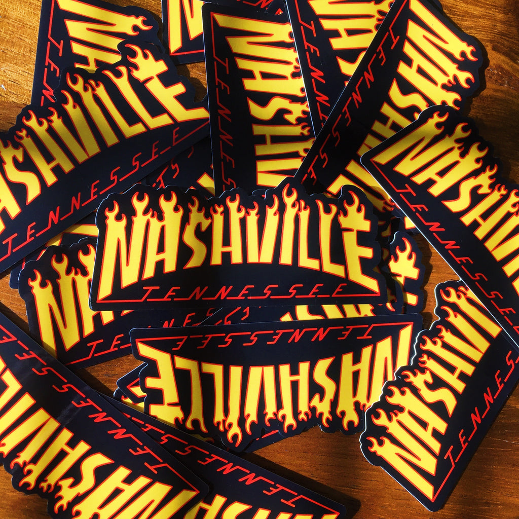 Nashvile Sticker