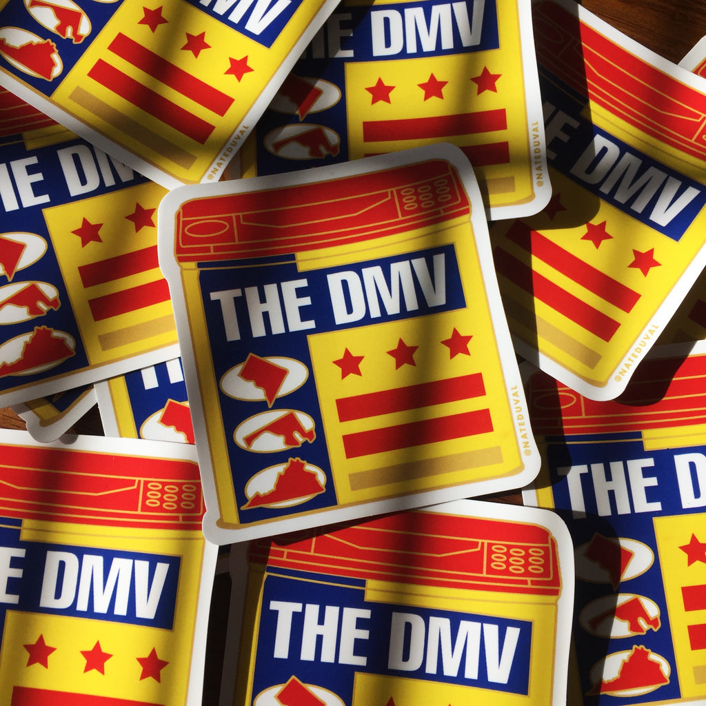 The DMV sticker
