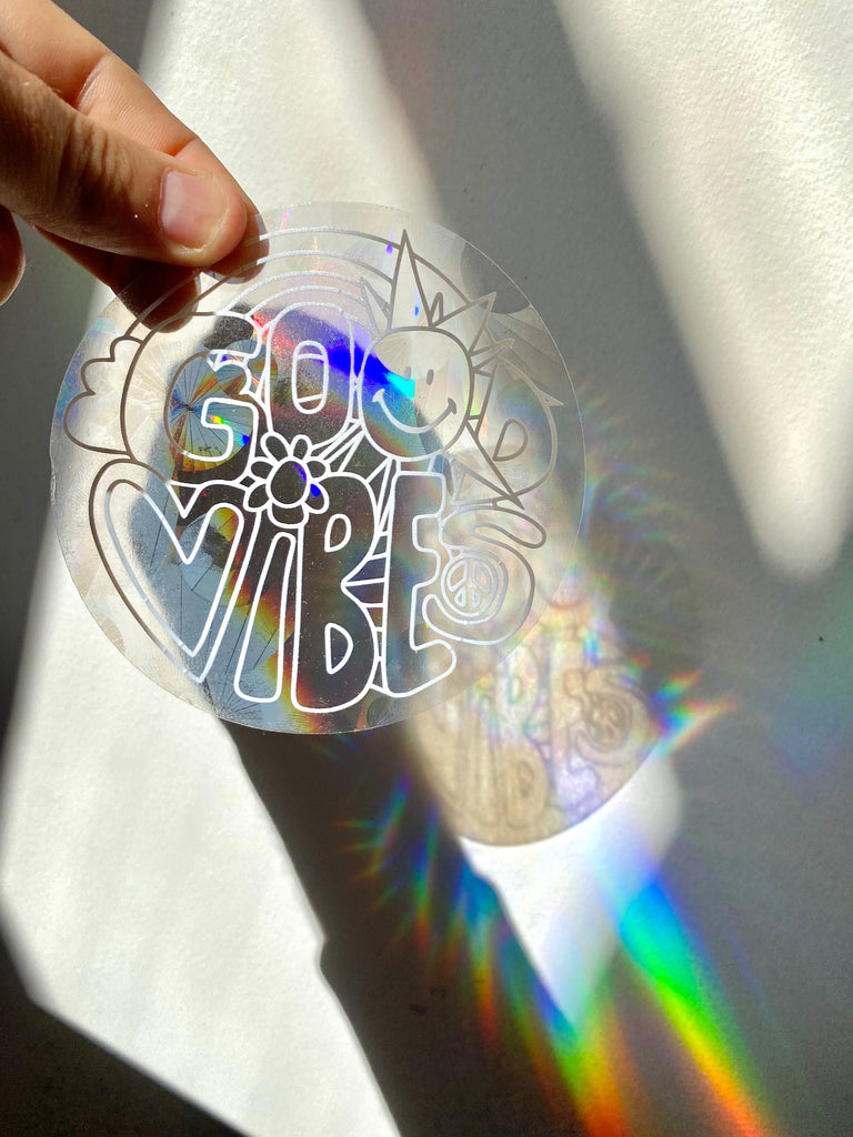 Good Vibes Rainbow Maker