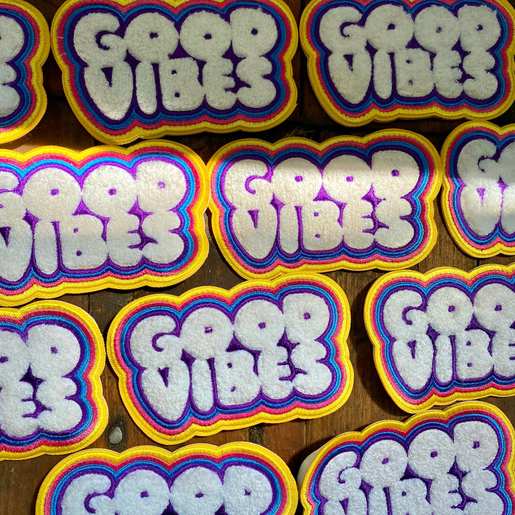 Good Vibes- Chenille