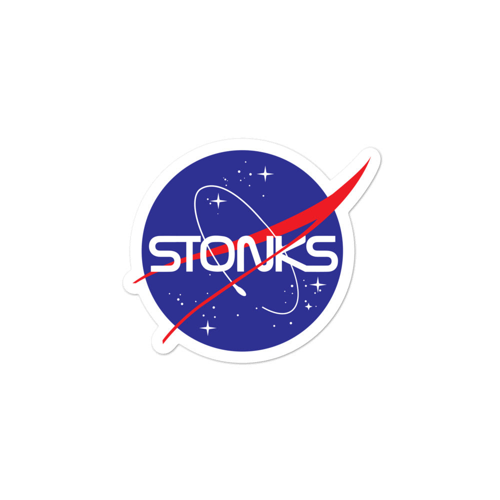 STONKS STICKER