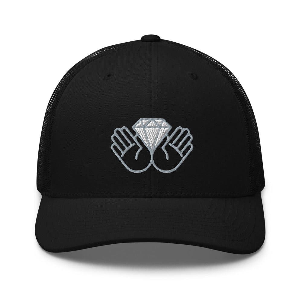 Diamond Hands Trucker Cap