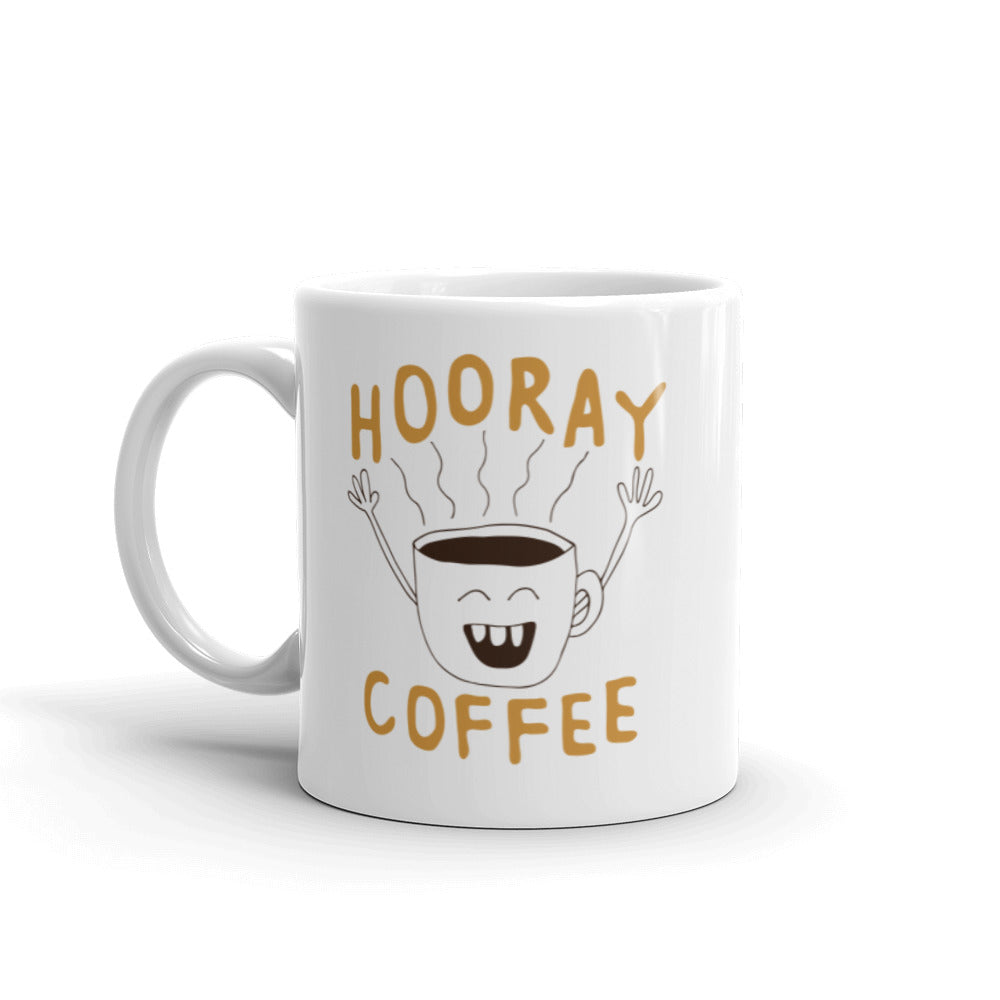 HOORAY COFFEE MUG