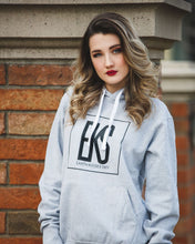 Load image into Gallery viewer, Grey EKS Hoodie