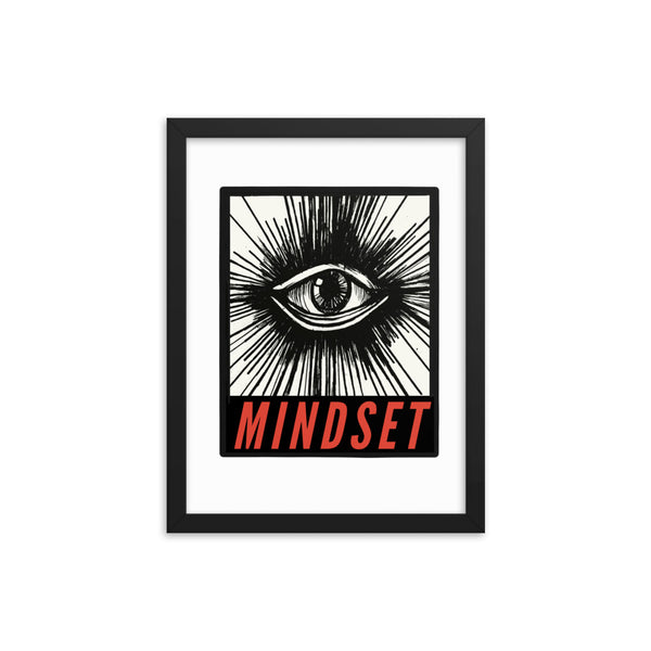 Mindset Framed Print - Zoe Louise Illustration