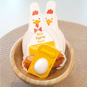 Let's do skin care with Real Egging Pack.
