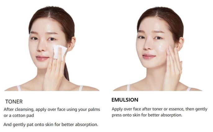 ETUDE HOUSE Moistfull Collagen Skin Care 2-Item Special Set Limited Edition | Facial Toner + Emulsion + Gift to provide hydration and moisture deep within skin