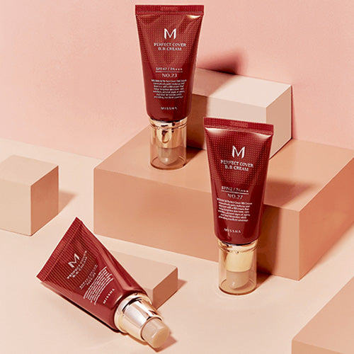 Missha M Perfect Covering BB Cream 50ml, SPF42 PA+++,No.31 Golden Beige (Blemish coverage and Power Long Lasting)