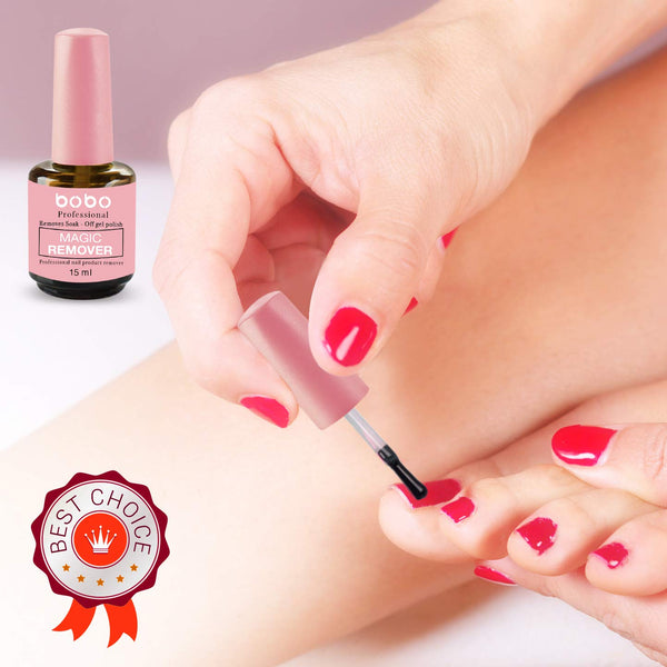 Magic Nail Polish Remover 15ml (0.5 fl oz) - ibspot