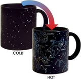 The Unemployed Philosophers Guild Heat Changing Constellation Mug - Add Coffee or Tea and 11 Constellations Appear - Comes in a Fun Gift Box - ibspot
