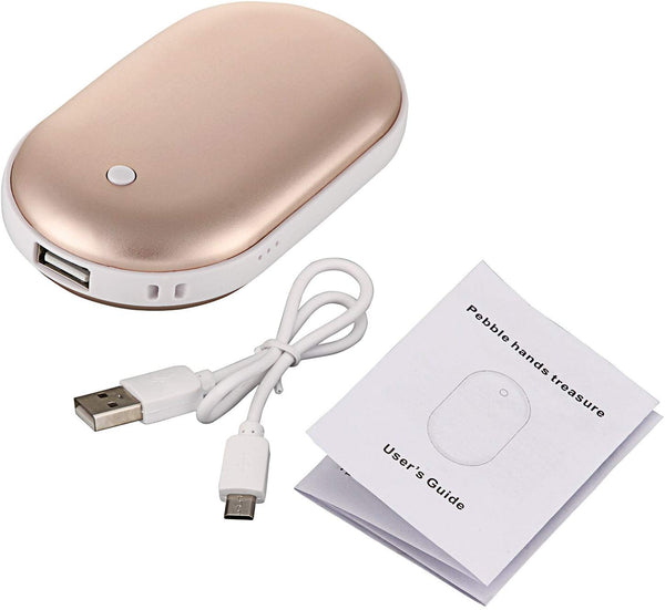 USB Rechargeable 5000mAh Portable Pocket Hand Warmer