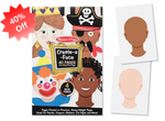 [New] Melissa & Doug Create-A-Face Pad - 40 Pages - ibspot