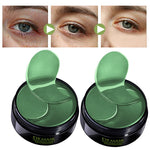 Eye Patches Mask Collagen Korea Against Wrinkles Dark Circles Care Eyes Bags Pads Ageless Hydrogel Sleeping Gel Patch 60PCS LQ - ibspot