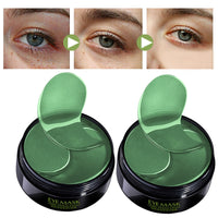 Eye Patches Mask Collagen Korea Against Wrinkles Dark Circles Care Eyes Bags Pads Ageless Hydrogel Sleeping Gel Patch 60PCS LQ