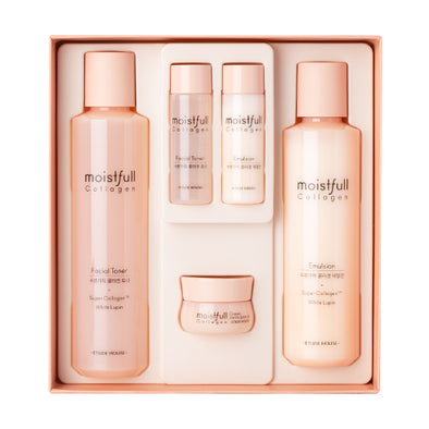 [Etude House] Moistfull Collagen Skin Care Set (2 Kinds