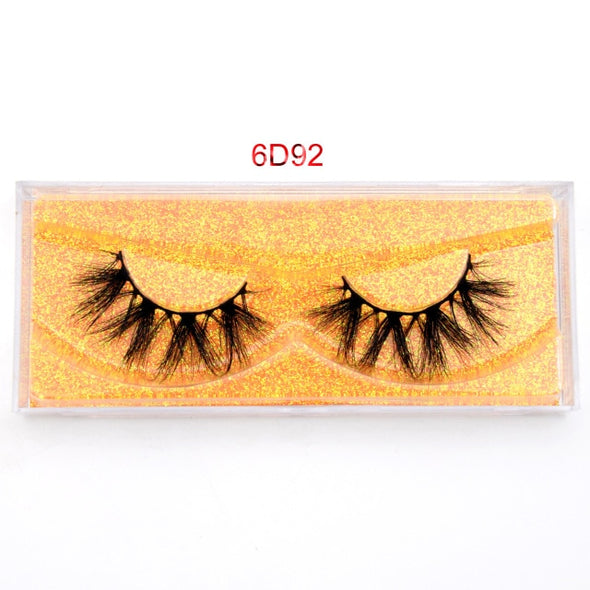 [Visofree] 5D Long Lasting Natural Mink Eyelashes