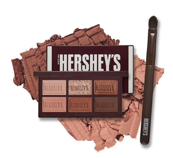 [Etude House] HERSHEY'S Chocolate Eyeshadow Pallette & Brush Set (Original)