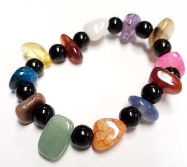 [Create jobs in Zambia, Africa] Natural Stone Bracelet ★ Get Free Jewelry Box ★ - ibspot