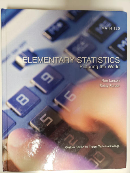 [Like New] Elementary Statistics - Picturing the World - Fourth Edition, Hardcover