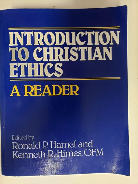 [Used / Very Good] Introduction to Christian Ethics: A Reader Paperback