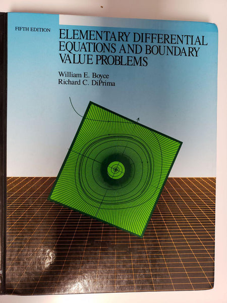 [Uses / Very Good] Elementary Differential Equations and Boundary Value Problems  - Hardcover