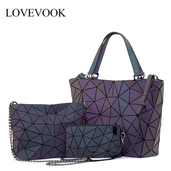 Lovevook women shoulder folding bag sets - ibspot